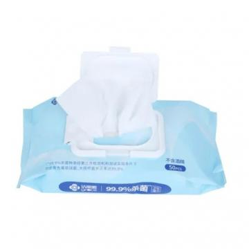 Visbella 80PCS 75% Alcohol Portable Cleaning Wet Wipes