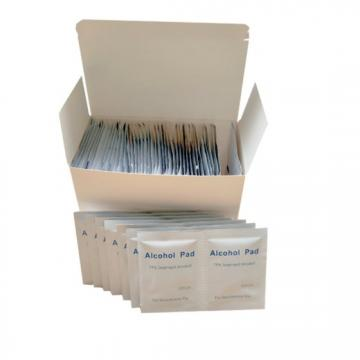 Medical Pre Injection Alcohol Pad and Cleaning Wet Wipes
