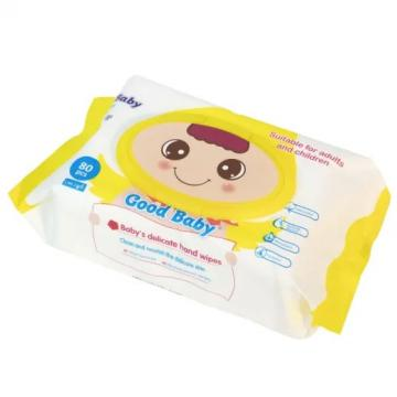 Alcohol-Free Hand Sanitizing Wipes Wrapped Antibacterial Hand Wipes