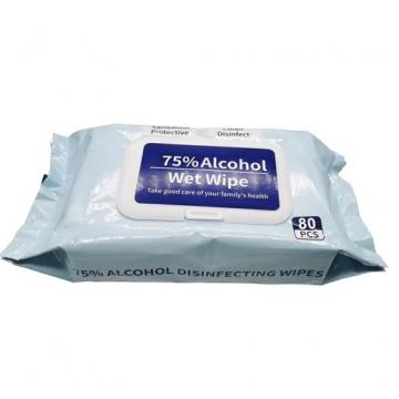 75% Alcohol Surface Travel Hand Santizing Cleaner Wipes