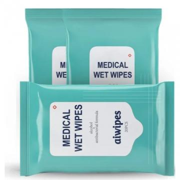 Surface Disinfectant Wipes Gym Wet Wipes Bactericidal Clinically Tested Alcohol Free
