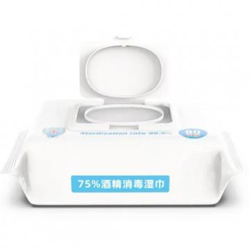 Portable Single Anti Bacterial Wet Tissue Disinfectant Wipe 99.99% Germ Killing Surface Alcohol Wet Wipes for Family Protection