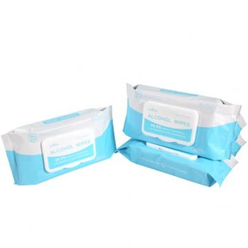 Disinfection Wet Wipes Containing 75% Alcohol