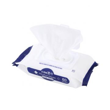 Disinfection Wet Wipe Alcohol Swab Pre-Pad Package Bags China Supplier Pharma Packing Material