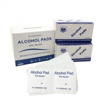 75% Alcohol Prep Pads Wipes Individually Wrapped Alcohol Wipes Pack for Smartphone & Portable Devices Cleaning