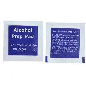 Non-Woven Fabric Isopropyl Alcohol Ipa Cleaning Disinfecting Medical Care Bio-Friendly Alcohol Prep Pad Wipes