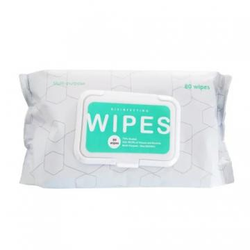 100PCS Organic Wet Cleaning Pure Water Based Cotton Plastic Lid Cover Newborn Baby Wipes